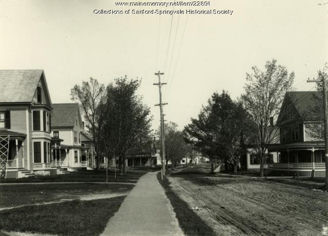 Main Street, Springvale, ca. 1910