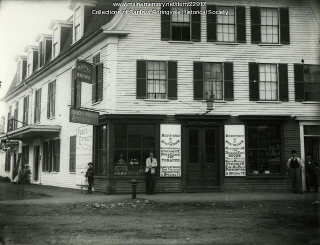 Hotel Brown, Springvale, ca. 1891