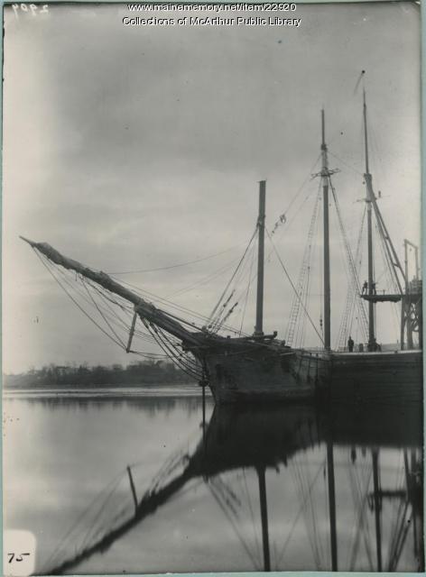 Schooner, Saco, 1910