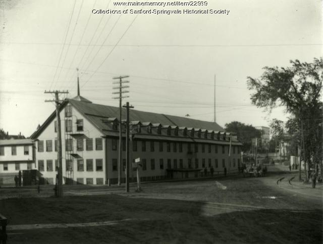 Old Number One Mill, Sanford Mills, ca. 1900