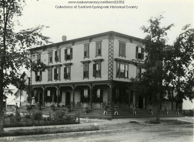 Hotel Sanford, Sanford, Ca. 1890