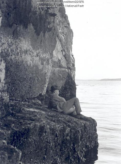 George B. Dorr in Lafayette National Park, ca. 1920