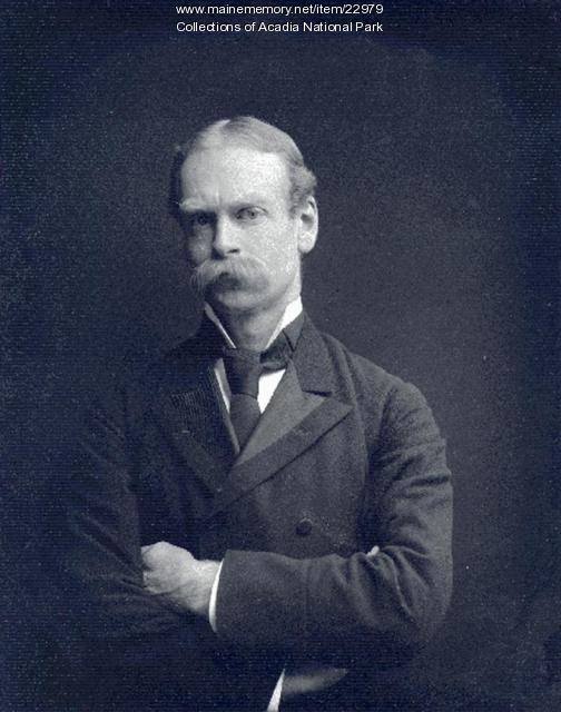 Portrait of George B. Dorr, ca. 1915