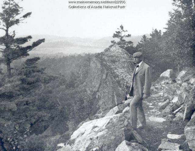 George B. Dorr in Acadia National Park, ca. 1935