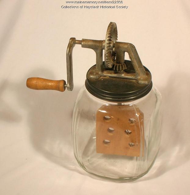 Dandy butter churn, Mapleton, ca. 1920