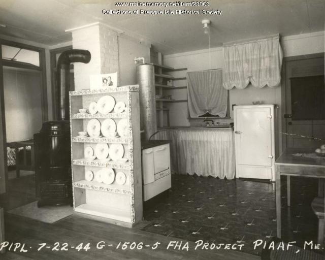 Interior, Fairview Acres furnished apartment, Presque Isle