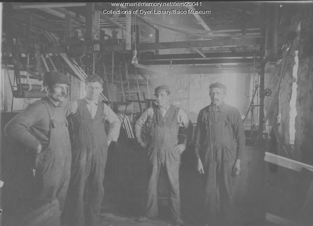 Pepperell Workers, Biddeford, ca. 1900