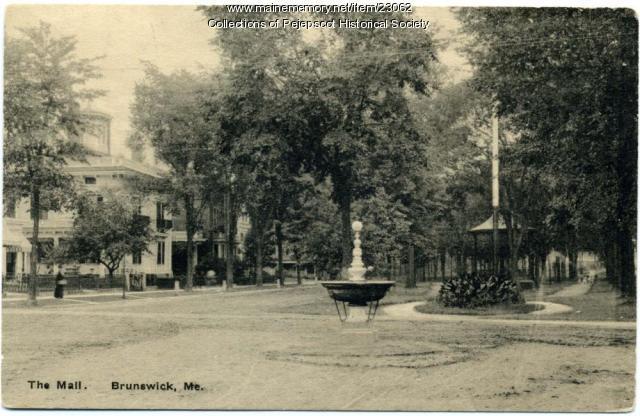 The Mall, Brunswick, ca. 1890