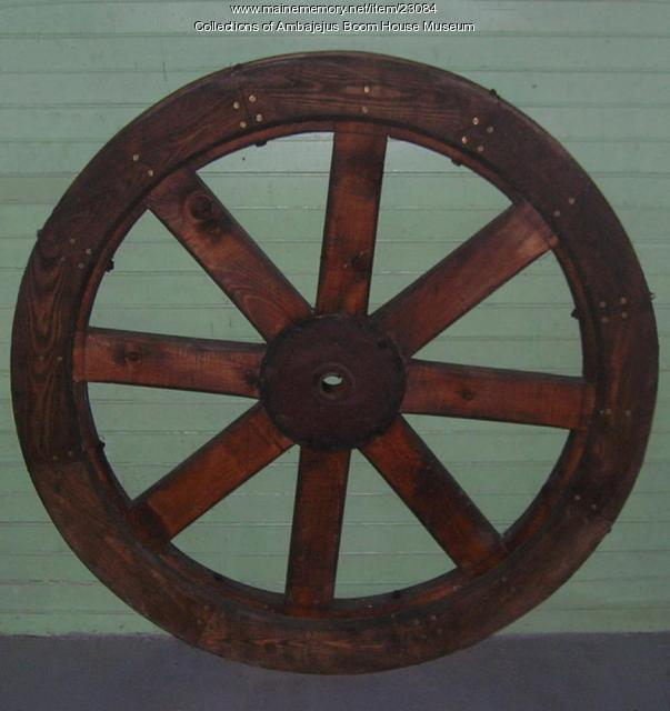 Pulley wheel, Ambajejus, ca. 1920