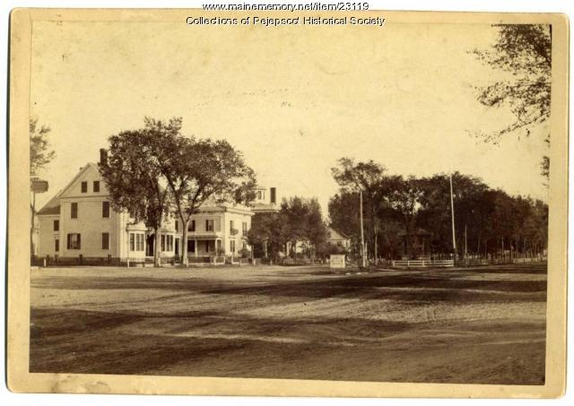 Skolfield House, Brunswick, ca. 1900