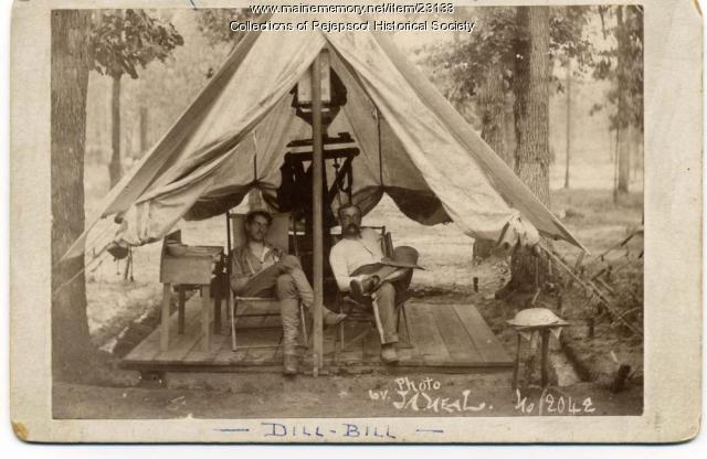 Spanish American War Scene, 1898