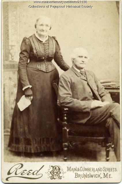 Mr. & Mrs. William Alexander, Harpswell, ca. 1889