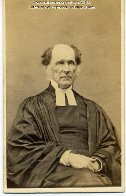 Rev. Dr. Edward Ballard, Brunswick, ca. 1860