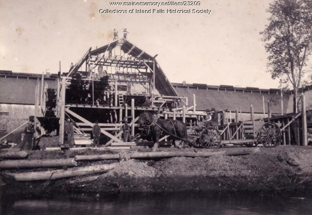 Proctor & Hunt Company, Island Falls, ca. 1893