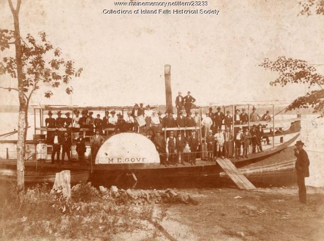 The Mary E. Gove, Island Falls, 1882