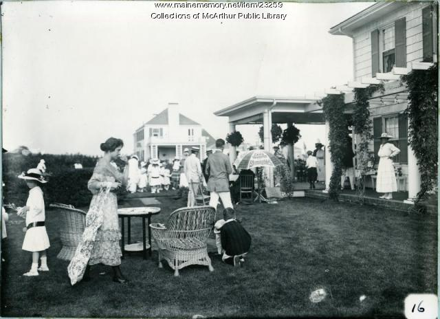 War Relief Fundraiser, Biddeford, 1917