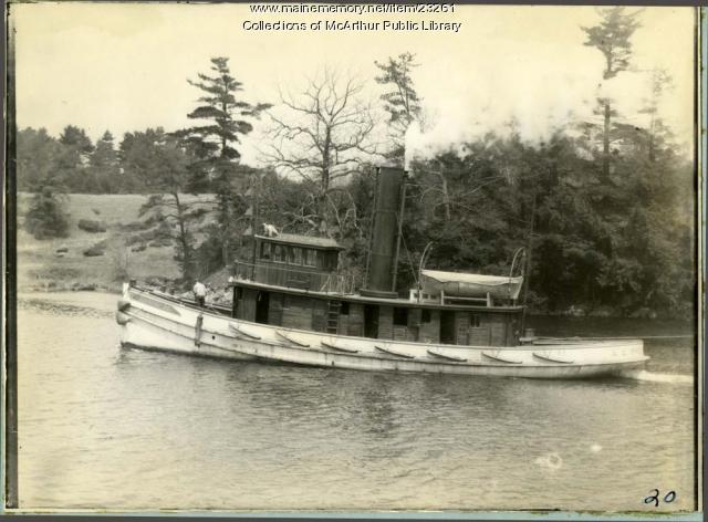 Tugboat A.G. Prentiss, Biddeford, ca. 1912
