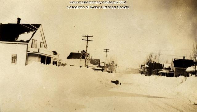 Lineman, Katahdin Avenue, Millinocket, ca. 1926