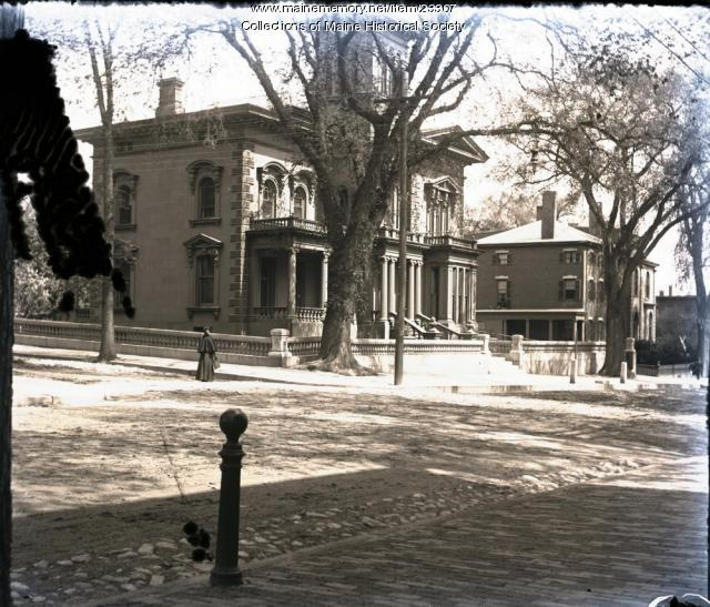 Victoria Mansion, Portland, ca. 1900