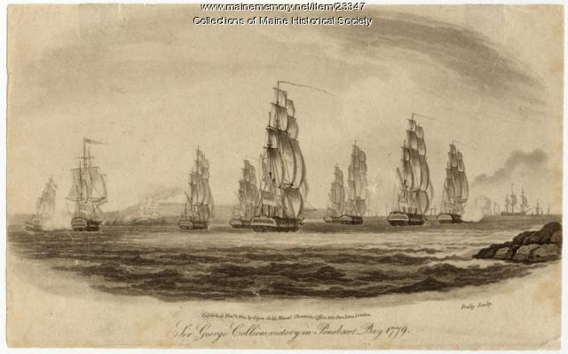 Colliers victory in Penobscot Bay, 1779