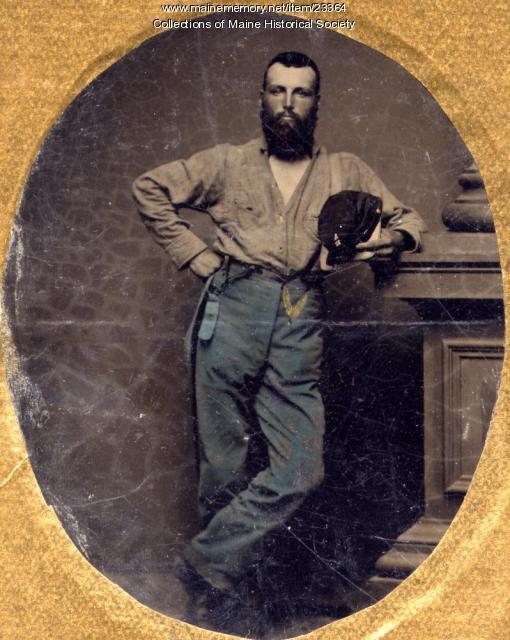 Grenville Sparrow, Portland, ca. 1862