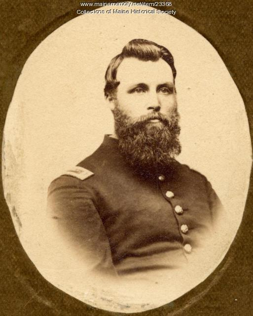 Granville Sparrow, 17th Maine Volunteers, ca. 1863