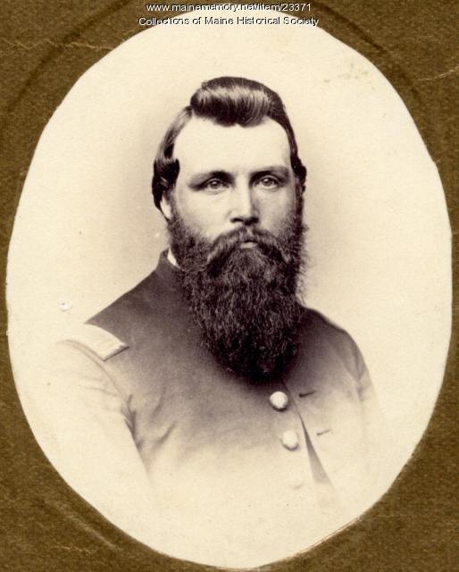 Grenville Sparrow, ca. 1864