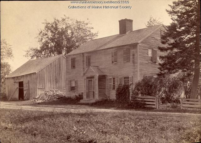 Coffin house, Buxton, 1888