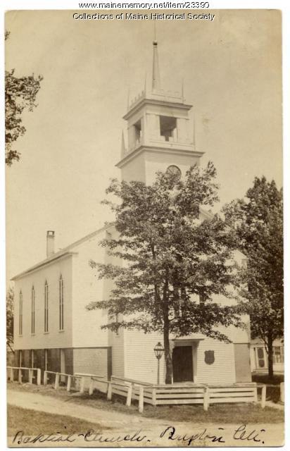 Buxton Center Baptist Church, ca. 1910