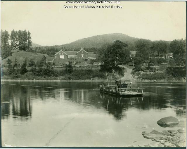 Bean's Ferry, East Bethel, ca. 1900