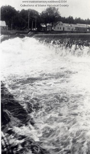 Dam, West Buxton, ca. 1912