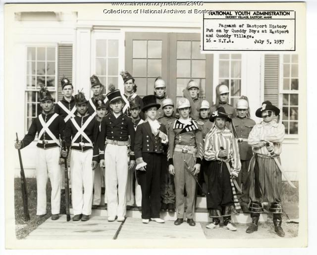 National Youth Administration, Quoddy Village Pageant, 1937