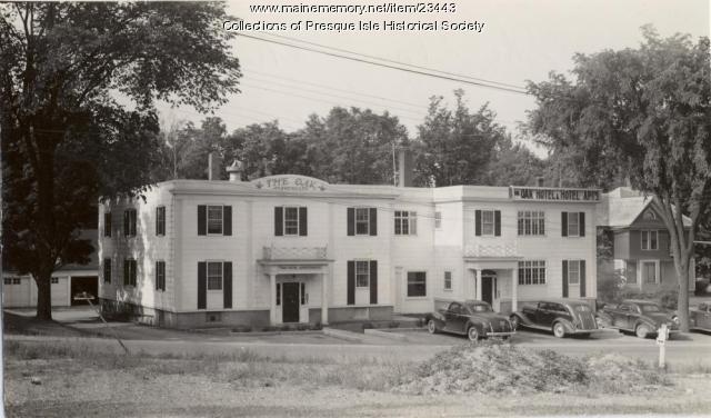 Oak Hotel Apartments, Presque Isle, ca. 1950