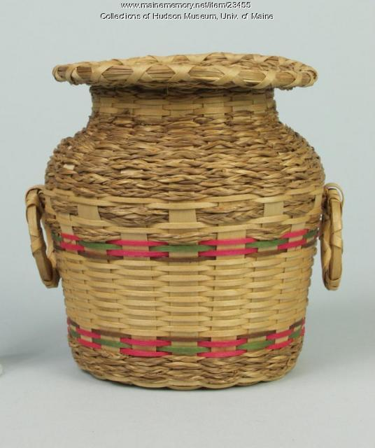 Jar basket, ca. 1960