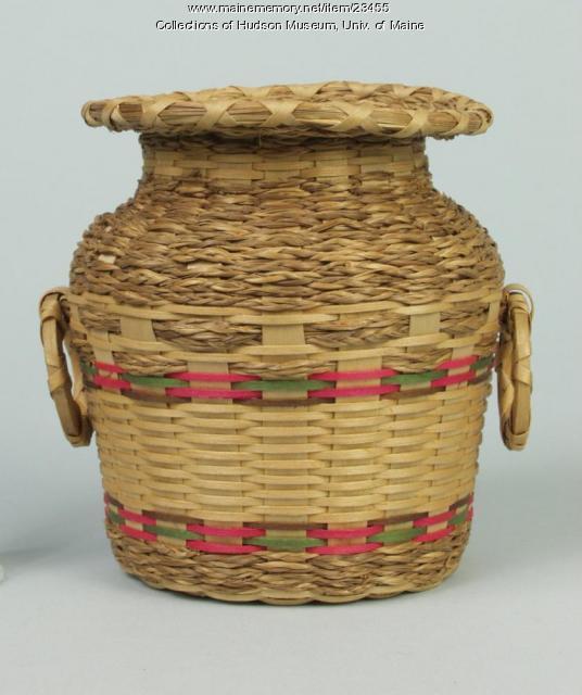 Jar basket, ca. 1960