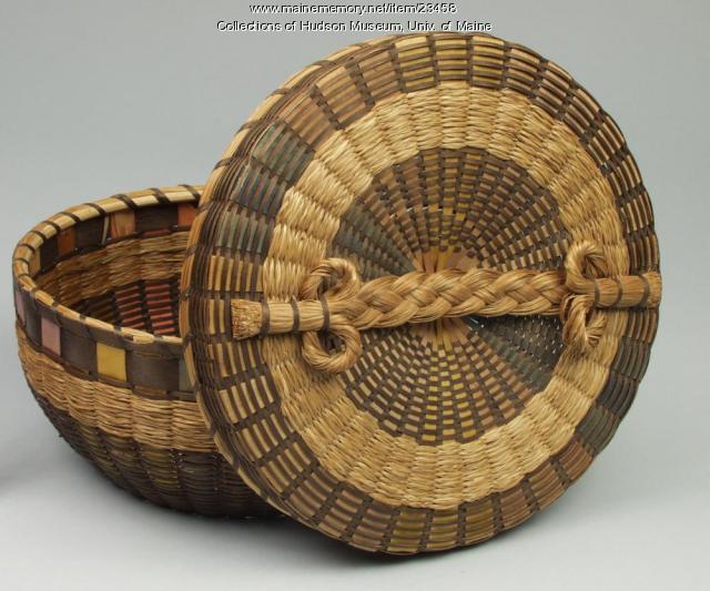 Sewing basket, ca. 1930