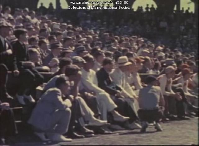 Film of Richardson Field, Portland, ca. 1940