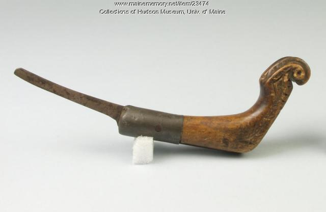 Crooked knife, ca. 1900