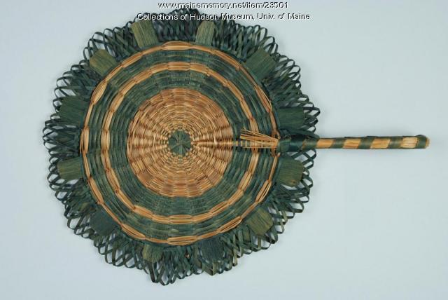Abenaki fan, ca. 1900