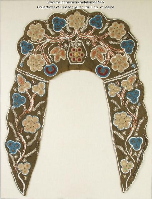 Penobscot cape collar, ca. 1870