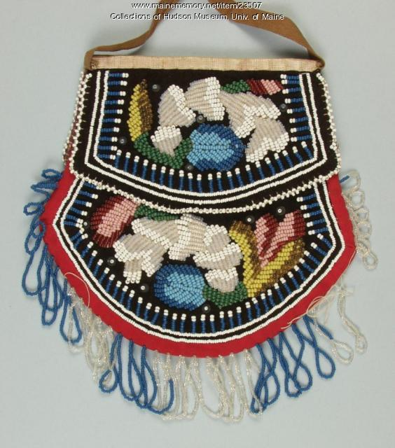 Mohawk purse, ca. 1880