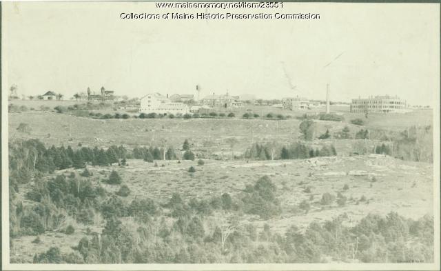 Maine State Sanatorium, Hebron, ca. 1909