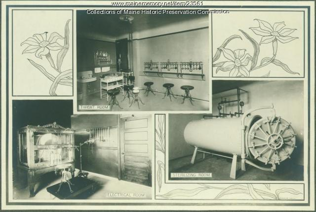 Facilities, Maine State Sanatorium, Hebron, ca. 1909