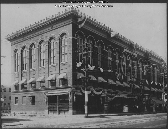 Masonic Building, Saco, ca. 1910