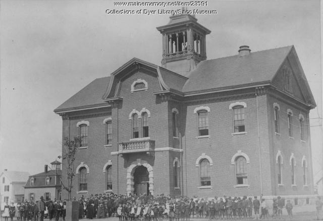 Sweetser School, Saco, ca. 1900
