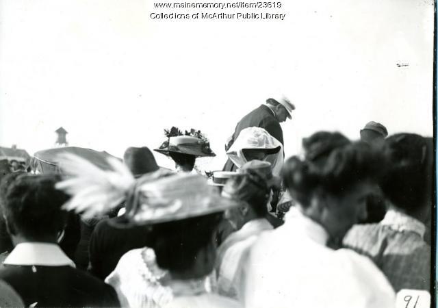 President Taft, Biddeford Pool, 1910