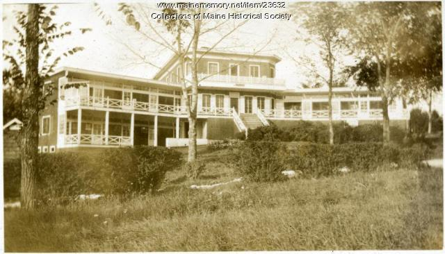 Children's Cottage, Western Maine Sanatorium, 1928