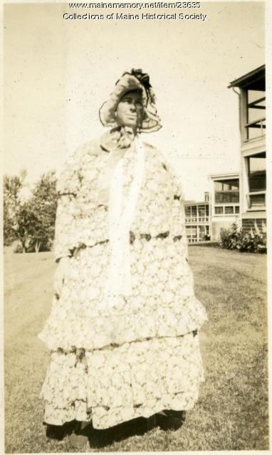 July 4 parade, Western Maine Sanatorium, 1929