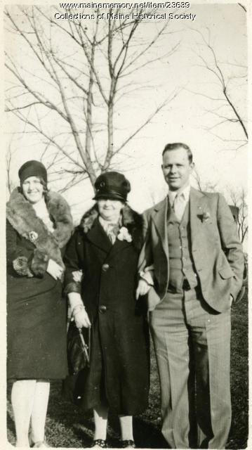 Wadleigh family, Hebron, 1929