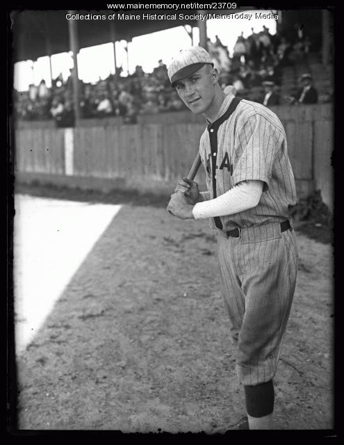 Ed Delaney, Portland Green Sox, 1925